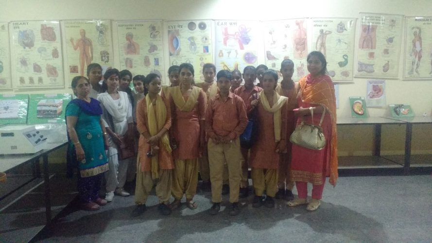 Students from GSSS Kherla,on visit to PIHS (02/04/2019)