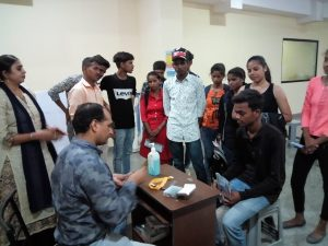 Students visit of Literacy India Vidyapeeth , village Bajghera,Gurugram (Haryana)