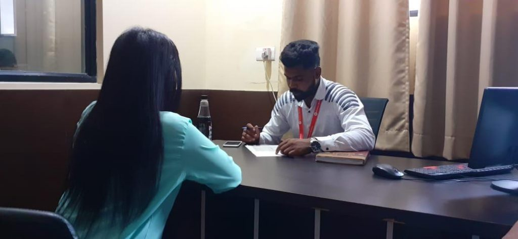 Campus Interviews organised by Hindustan wellness pvt ltd by Mr. Manish Yadav (Executive HR)